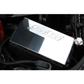 2010-2015 Camaro SS Logo Billet Aluminum Fuse Box Cover
