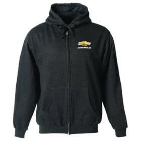 Chevrolet Gold Bowtie Zip Hood Jacket