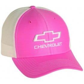 2010-2015 Chevrolet Camaro Bowtie Mesh Ladies Snapback Baseball Cap