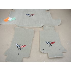 C5 Corvette Lloyd Cargo Mat and Floor Mat Bundle
