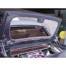 C5 1997-2004 Corvette Convertible Trunk Lid Panel - Mirror Finish