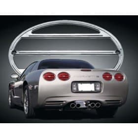 C5 Corvette 5 Piece Chrome Tail Light Set