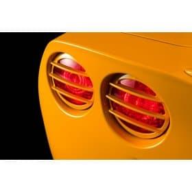 C6 Corvette Altec Tail Light Grills Taillight Louvers