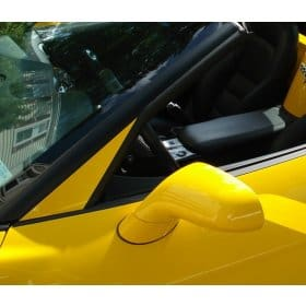 C6 Corvette Painted A-Pillar Overlay Trim