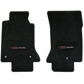 C5 Corvette Lloyd Classic Loop Front Floor Mats with Z06 Logo