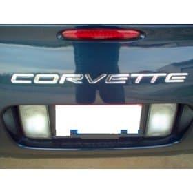 C5 Corvette Bumper Letters