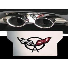 Corvette C5 Stainless Steel Exhaust Enhancer Plate