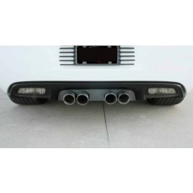 C6 Corvette Blakk Stealth Exhaust Filler Panel NPP