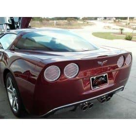 C6 Corvette Classic Chrome Rear Valance Trim