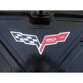 C6 Corvette Convertible Inside Trunk Lid Decals