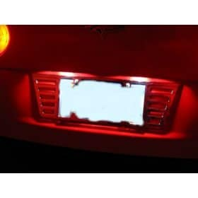 C6 Corvette LED License Plate Lights