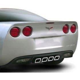 C6 Corvette SLP Performance Painted Rear Spoiler