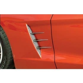 C6 Corvette 6-pc Stainless Vent Spears (05-07)