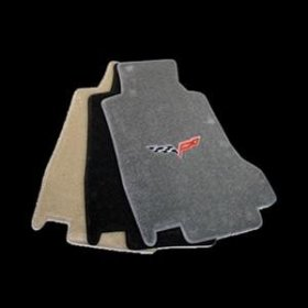 C6 Corvette Floor Mats 2005-07 Early (Post)Steel Grey