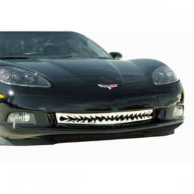 C6 Corvette Polished Stainless Shark Tooth Grille