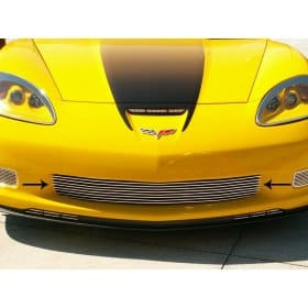 C6 Corvette Z06-Grand Sport Polished Aluminum Billet Grille