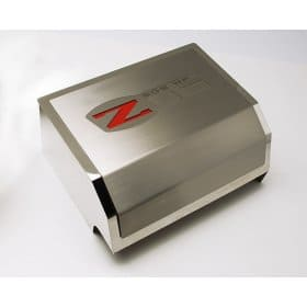 C6 Corvette Z06 Fuse Box Cover Brushed/Polished Combo with Z06 Logo