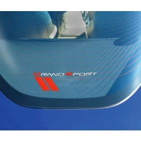 C6 2005-2013 Corvette Grand Sport Rear Cargo Shade