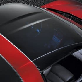 C6 Corvette Transparent Replacement Roof
