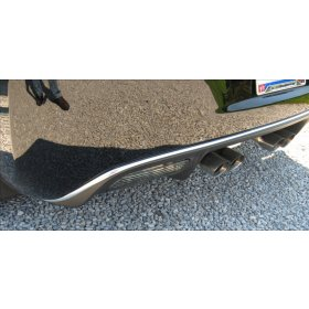 C6 Corvette Rear Valance Chrome trim