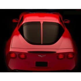 C6 Corvette Coupe Body Color Painted Rear Window Trim