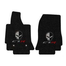 C7 Corvette Lloyd Floor Mats C7R Scripts + Jake Logo
