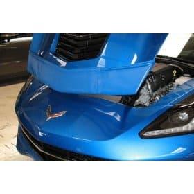 2014-2019 C7 Corvette Speed Lingerie Color Matched Front Hood Mask