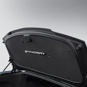 C7 Corvette Deck Lid Liner in Black with Stingray Logo