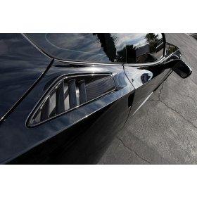 2015-2019 C7 Corvette Z06 Rear Quarter Panel Vent in Real Carbon Fiber