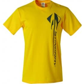 C7 Corvette Vertical Stingray Yellow T-Shirt