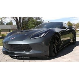 2014-2019 C7 Corvette Racemesh One Piece Lower Front Grille