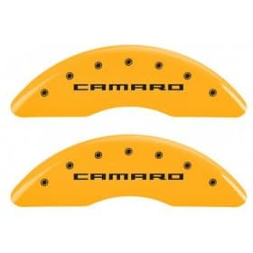 2016-2019 Camaro Caliper Covers Yellow w/RS,SS or Camaro Logo