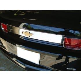 2010-2013 Camaro Trunk Panel Trim Insert - Chrome