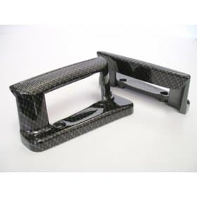 C6 Corvette Door Handles With Carbon Fiber Finish
