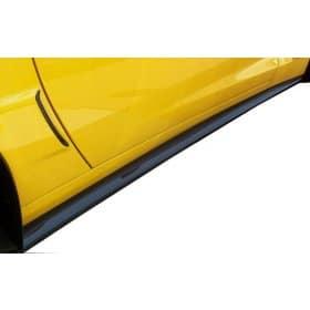 C6 Corvette ZR1 Style Carbon Fiber Side Skirts