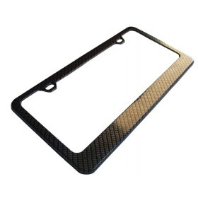 2008-2017 Dodge Challenger Carbon Fiber License Plate Frame