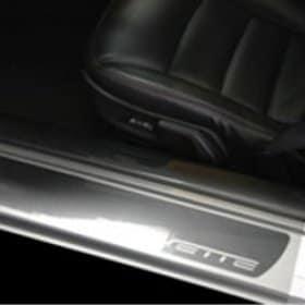 C6 2005-2013 Corvette Clear Door Sill Protectors