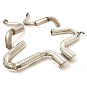 C5 Corvette Billy Boat B&B Bullet Exhaust (Twin Tip)