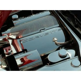 C5 1997-2004 Corvette Polished Stainless Fuel Rail Covers