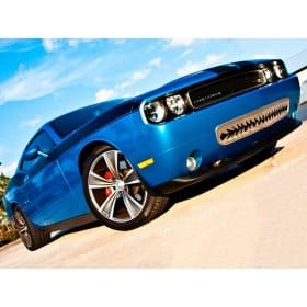 2010 Dodge Challenger Stainless Shark Tooth Front Grille