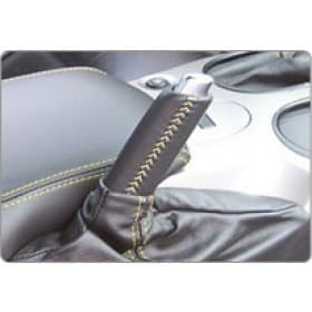 C6 Corvette Leather E-Brake Handle