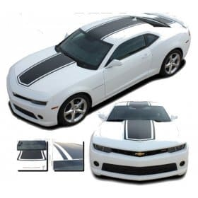 2010-2015 Bumblebee Camaro Hood and Deck Stripe Kit