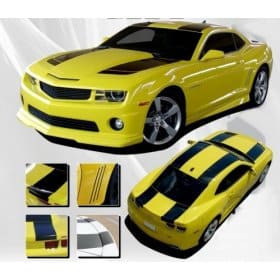 2010-2013 Camaro Bee 2 Hood Roof and Deck Stripe kit