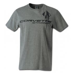 C7 2014-2018 Corvette Men's T-Shirt Heather Gray