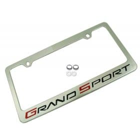 C6 Corvette Grand Sport License Plate Frame