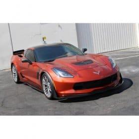 2014-2019 C7 Corvette Carbon Fiber APR Front Bumper Canards Spats Z51