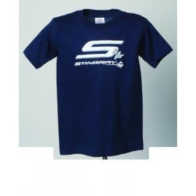 C7 Corvette Stingray Youth T-Shirt  Navy