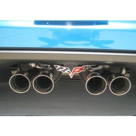 C6 2006-2013 Corvette Stainless Steel Exhaust Plate for Z06/NPP