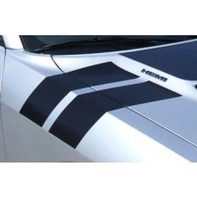 2009-2013 Dodge Challenger Hood to Fender Stripes Kit