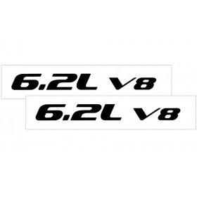 2010-2015 Camaro Hood Rise Decal Set